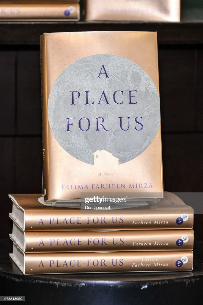 A view of Fatima Farheen Mirza's book 'A Place For Us' at Barnes & Noble Union Square on June 13, 2018 in New York City.