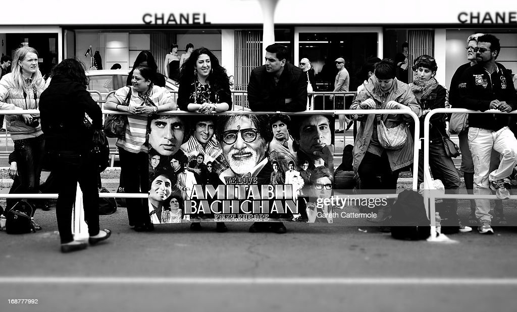 A view of festival fans during the 66th Annual Cannes Film Festival on May 15, 2013 in Cannes, France.