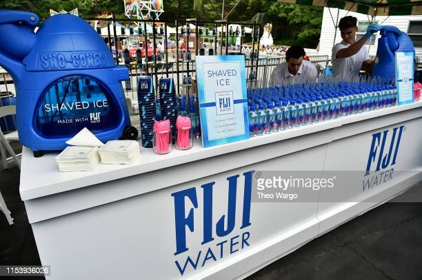 A view of Fiji Water at the GoodFoundation 2019 Bash presented by Hearst and Johnson Johnson at Victorian Gardens in Central Park on June 05 2019 in...