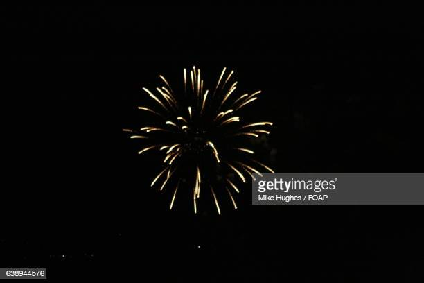 view of fireworks in fourth of july - rio rancho stock pictures, royalty-free photos & images