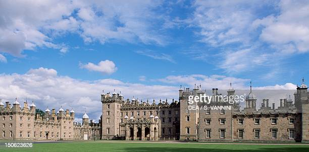 View of Floors Castle, by William Adam and William Henry Playfair , near Kelso, Roxburghshire. Scotland, 18th-19th century.