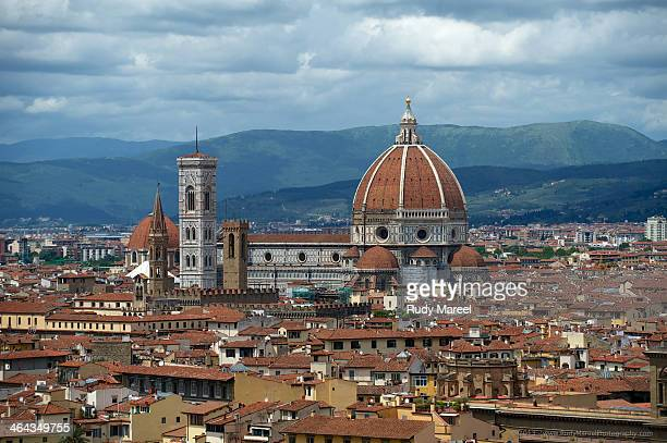 View of Florence from the Piazza Michelangelo - Florence, Italy