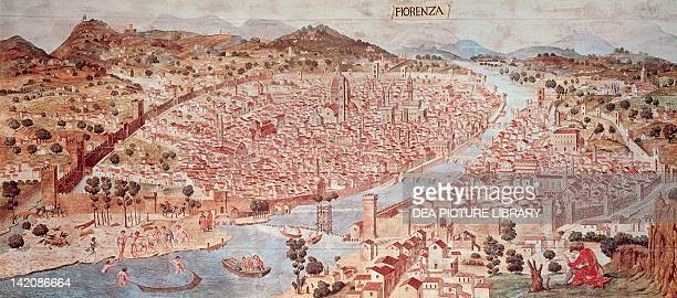 View of Florence or of Catena ca 14711482 attributed to Francesco di Lorenzo Rosselli Italy 15th Century