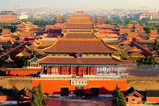 View of Forbidden city in Beijing