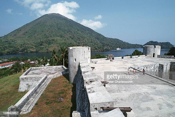 A view of Fort Belgica which was built by the Dutch colonialists in 1611 and has been restored recently Centuries ago the Portuguese Dutch and...