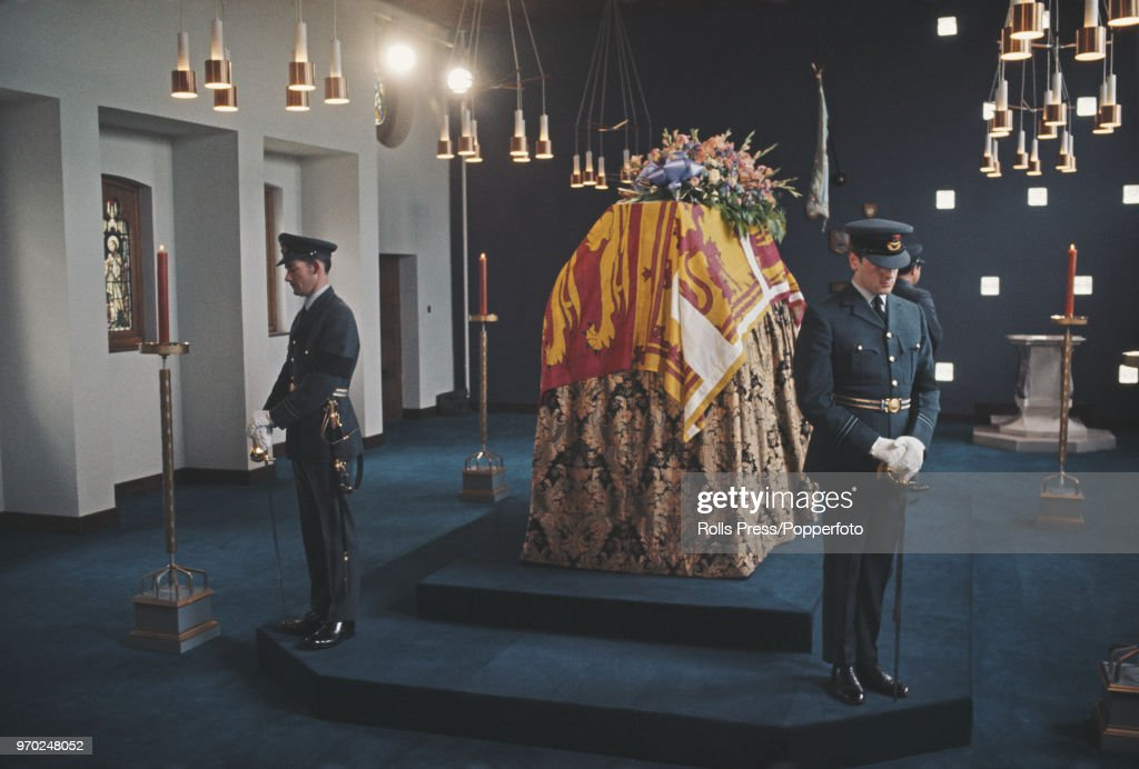 Duke Of Windsor Lying In State : Nieuwsfoto's