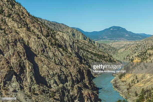 View of Fraser river, British Columbia, Canada