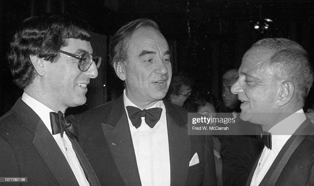 Kosner, Murdoch, & Cohn At Birthday Party : News Photo