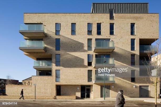View of front of housing scheme Hicks Bolton Bond Housing Scheme London United Kingdom Architect Rick Mather Architects 2015