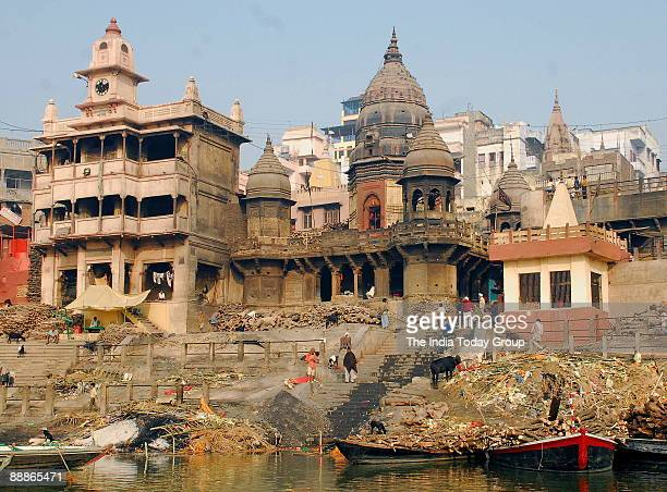 View of Ganga River at Varanasi in Uttar Pradesh India