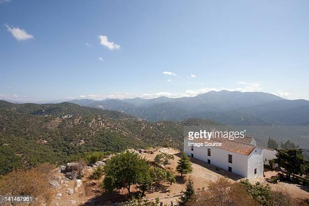 Blick auf Gaucin, Andalusien, Spanien
