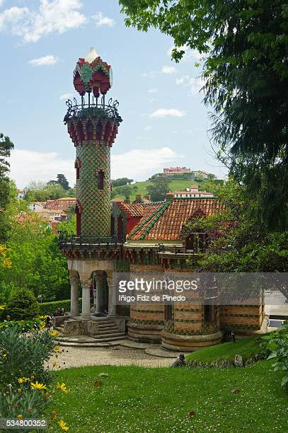 "View of Gaudí's ""Capricho"" Monument- Comillas- Cantabria- Spain"
