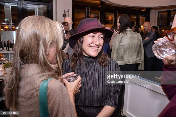 A view of general atmosphere at the 53rd New York Film Festival Filmmakers In Residence Dinner at Cafe Clover on October 8 2015 in New York City