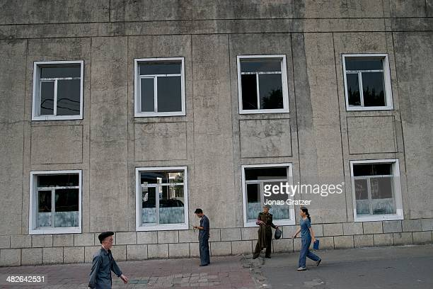 A view of general life around the residential districts of Pyongyang 60 years after the Korean War it is clear that not much has changed in North...