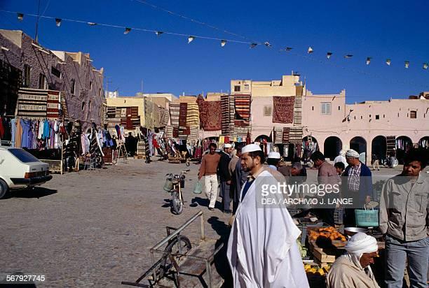View of Ghardaia market Algeria