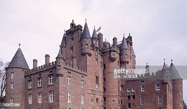 View of Glamis Castle Angus Scotland 14th19th century