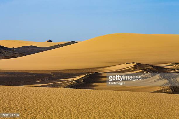 View of Gobi desert/Xinjiang,China.