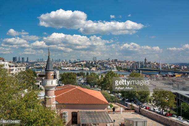 View of Golden Horn from Zeyrek Neighborhood,Istanbul,Turkey
