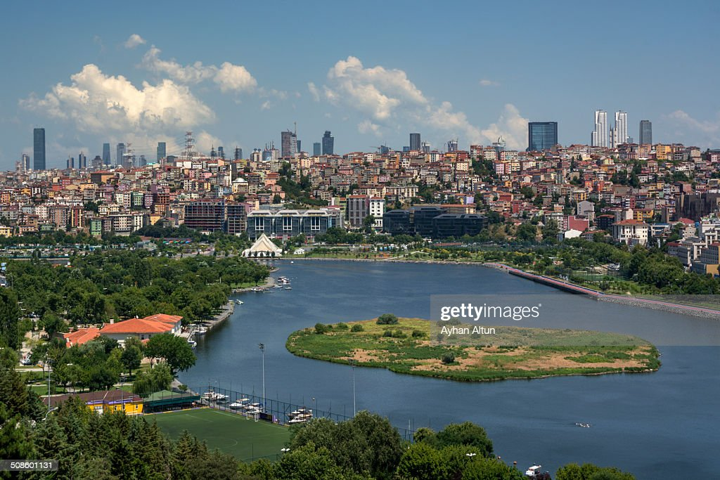 View of Golden Horn : Stock Photo