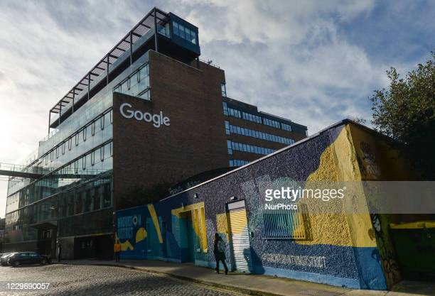 View of Google EMEA offices, in the western part of the Grand Canal Docks, in Dublin. On Thursday, November 19 in Dublin, Ireland.