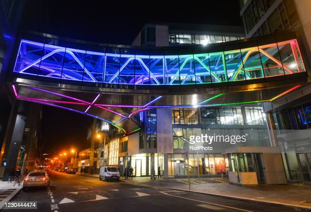 View of Google's European headquarters building on Barrow Street, in Dublin's Grand Canal area.More than 200 Google employees in the US formed a...