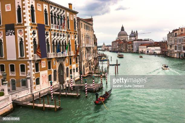 View of grand canal, Venice, Italy