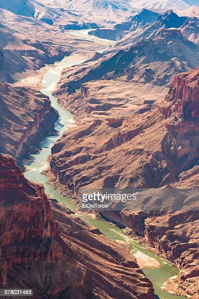 View of Grand Canyon and Colorado river, Arizona