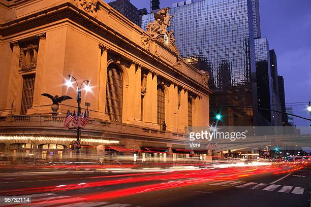 View of grand central and nyc streets