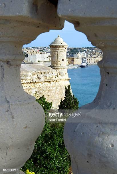 View of Grand Harbour, Valletta, Malta, Europe