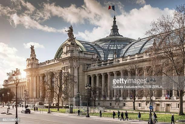 View of Grande Palais, Paris, France