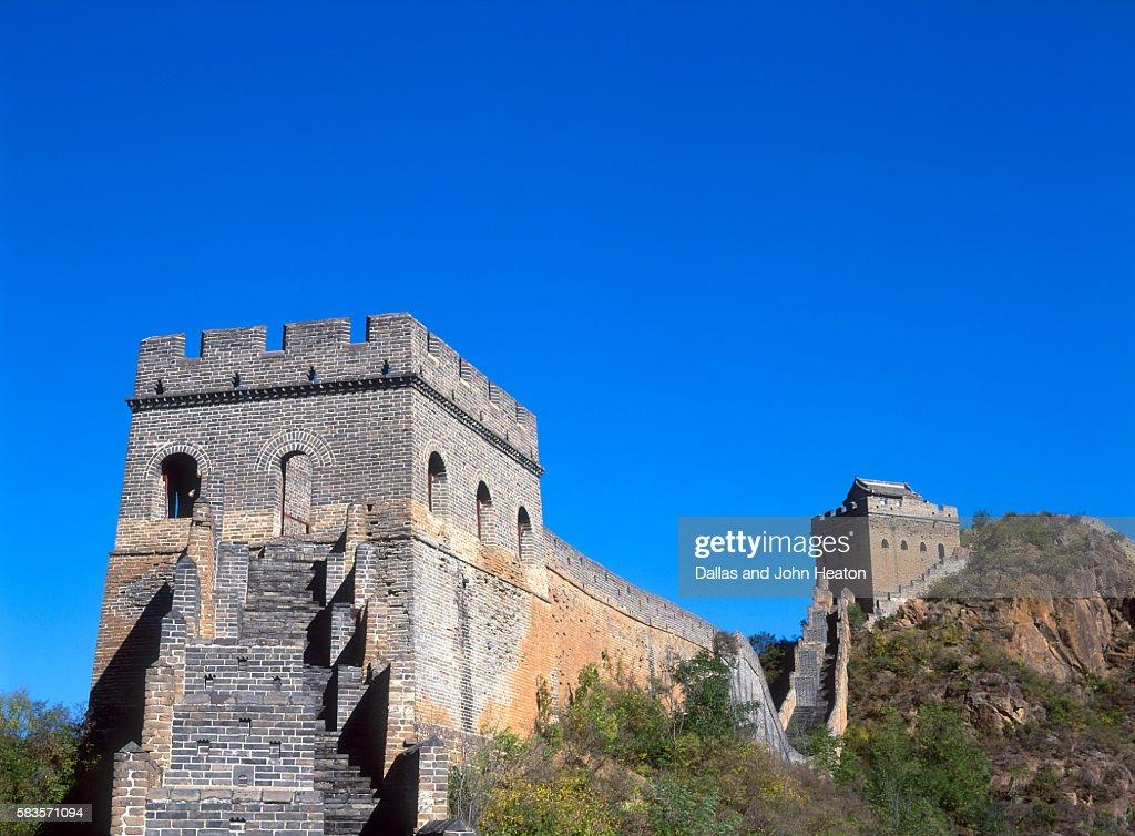 View of Great Wall , Jinshanling, China : Stock Photo