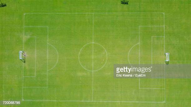 view of green landscape - football pitch stock pictures, royalty-free photos & images