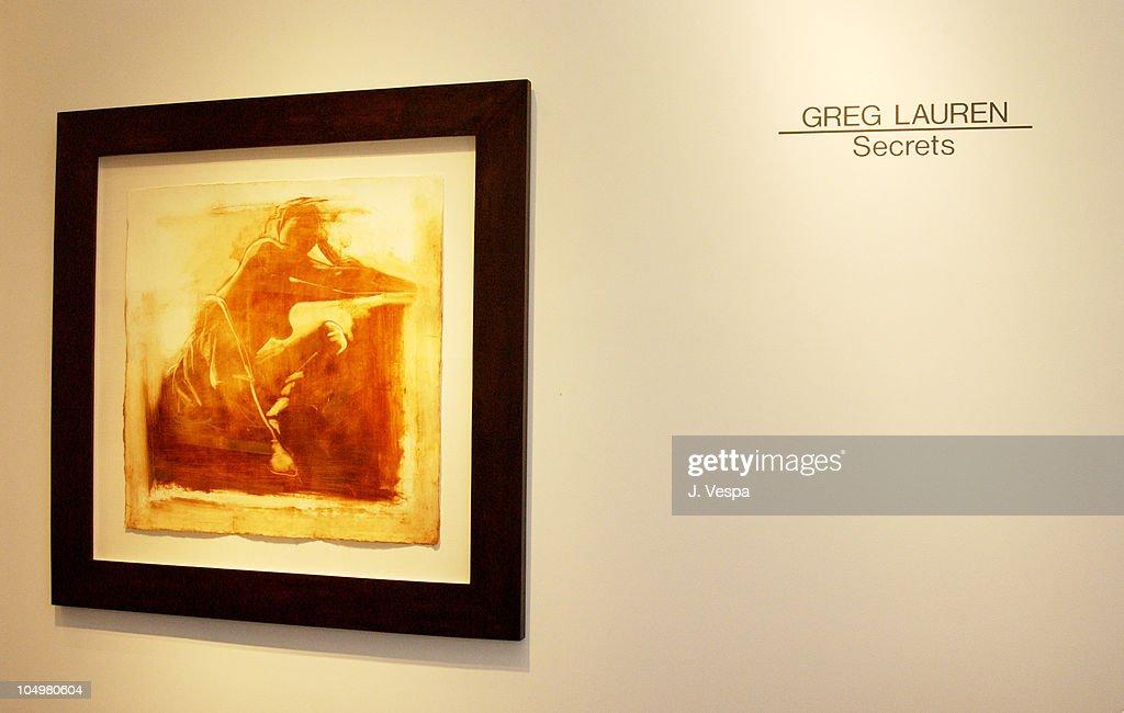 Greg Lauren Art Opening - Los Angeles : News Photo