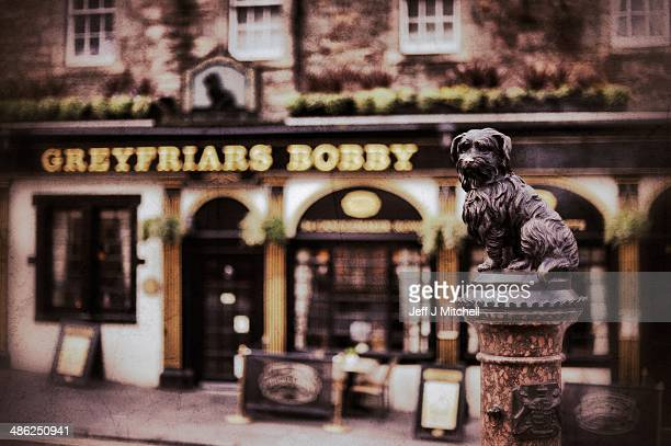 A view of Greyfriars Bobby statue on April 23 2014 in Edinburgh Scotland A referendum on whether Scotland should be an independent country will take...