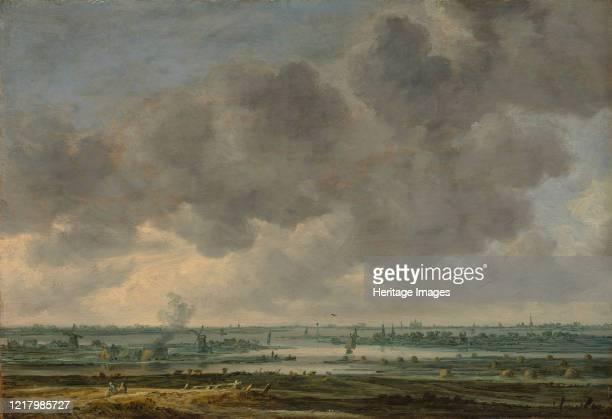 View of Haarlem and the Haarlemmer Meer, 1646. Artist Jan van Goyen.