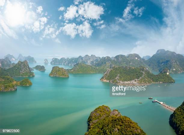 View Of Halong Bay Taken From Cat Ba Island In Vietnam