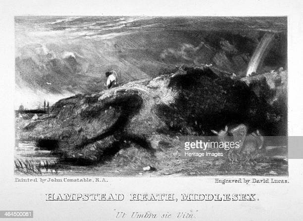 View of Hampstead Heath, London, 1831.