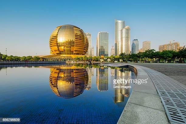 View of Hangzhou City
