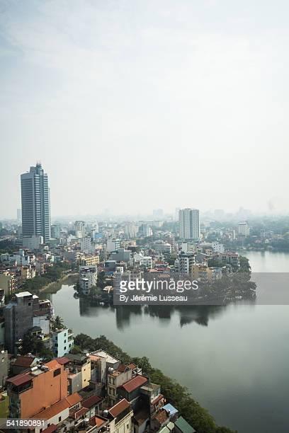 View of Hanoï city