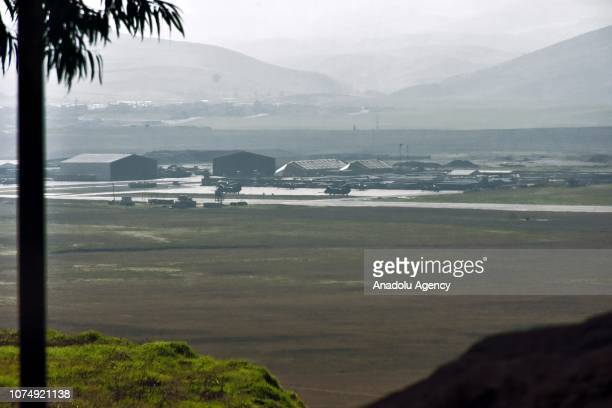 A view of Harir Airfield which is expected to be used by US troops while they withdraw from Syria is seen in Erbil Iraq on December 26 2018