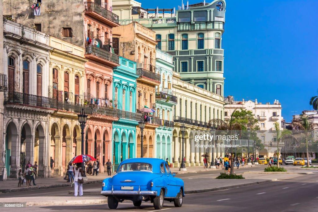 View of Havana city, Cuba. : ストックフォト