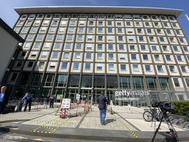 View of Higher Regional Court of Koblenz where 2nd trial of two former intelligence officers of the Syrian regime, held in Koblenz, Germany on April...