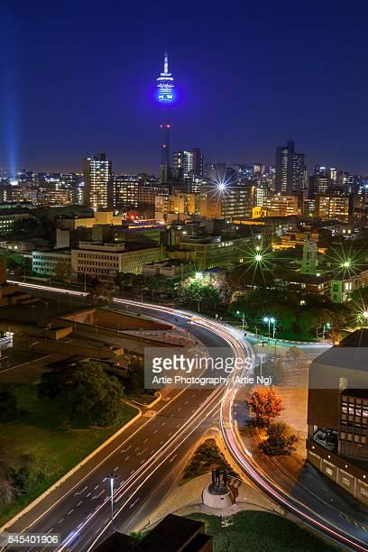 View Of Hillbrow Tower & City Skyline, Johannesburg, Gauteng Province, South Africa