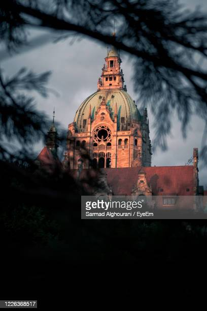 view of historic building against sky - hanover germany stock pictures, royalty-free photos & images