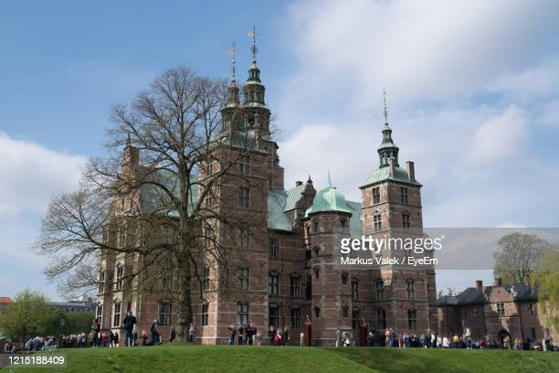 view of historical building against sky - oresund region stock pictures, royalty-free photos & images