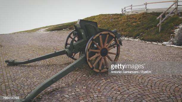 View Of Historical Cannon