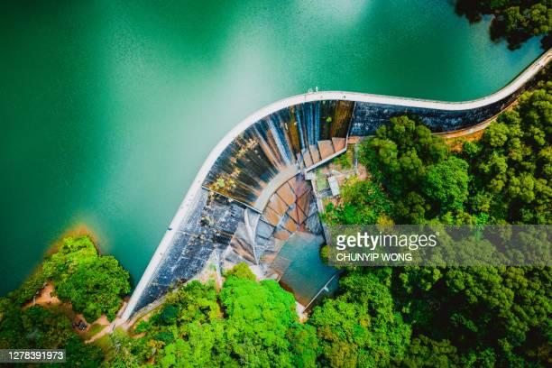 ホープイ貯水池の眺め - ダム ストックフォトと画像