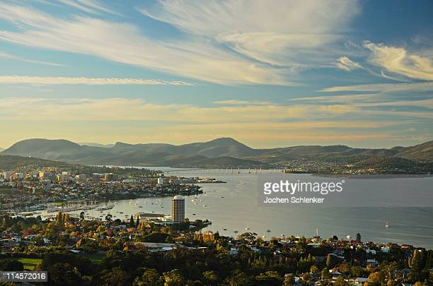 View of Hobart and River Derwent from Sandy Bay