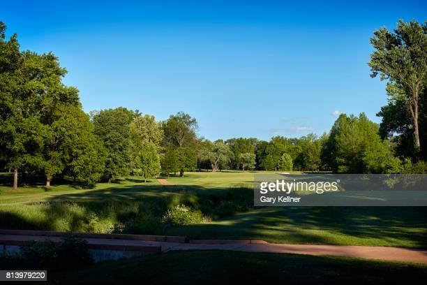 A view of hole eight at Bellerive Country Club home of the 2018 PGA Championship on May 15 2017 in St Louis Missouri