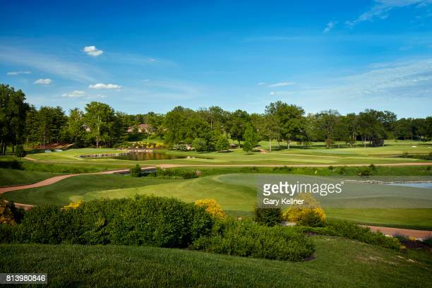 A view of hole eleven at Bellerive Country Club home of the 2018 PGA Championship on May 15 2017 in St Louis Missouri